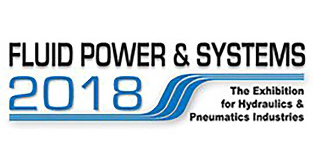 Join us at The Fluid Power & Systems 2018 Exhibition