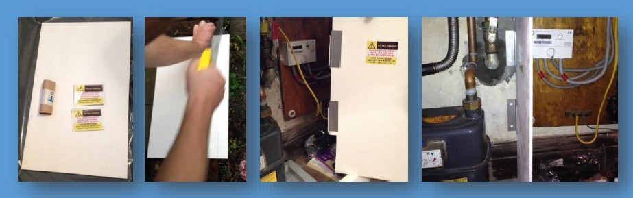 Gas Meter Seperation Board